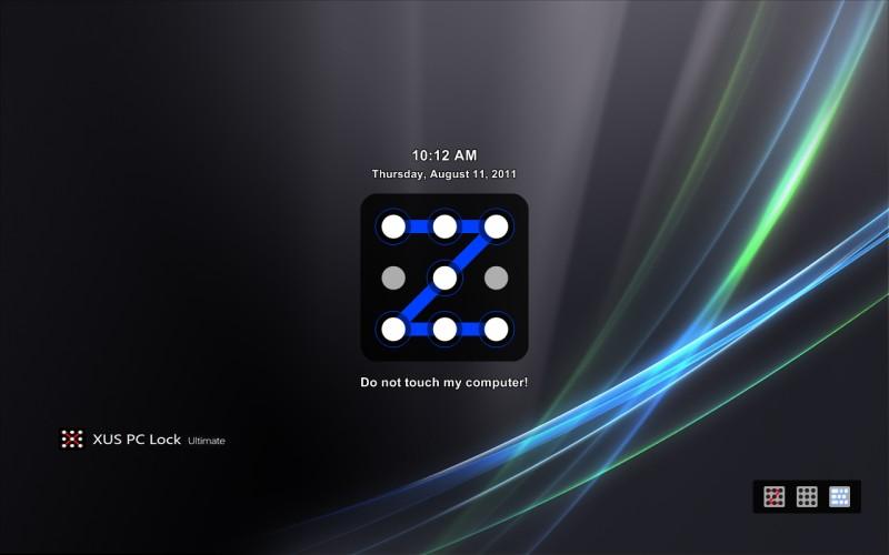 : XUS PC Lock أصدار البرنامج : 4.1.68 حجم البرنامج